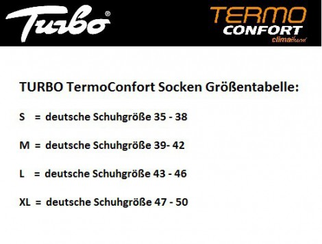 TURBO TermoConfort Thermo-Socken extra warm bis minus 15 ° Celsius – Bild 2