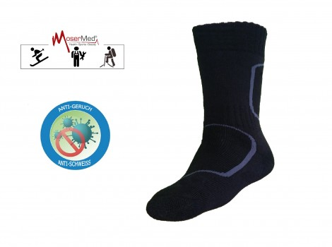 MoserMed Funktions-Socken Sport Thermosocken extra warm Merino Wolle